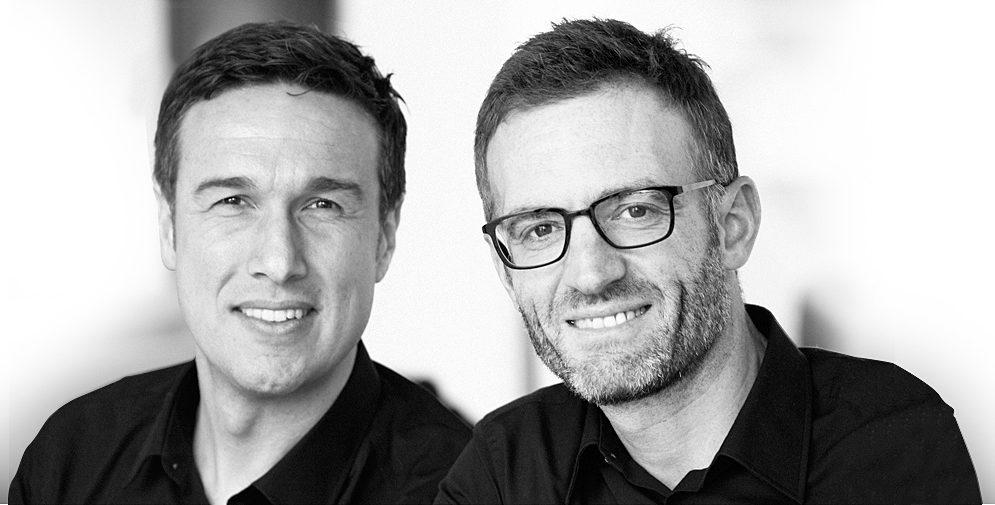 Armin Brucker und Marcus Kinkelin